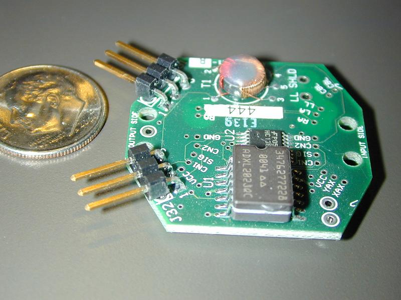Small Analog Surface Mount Component Board